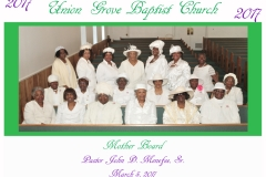 Mother's Ministry 2017